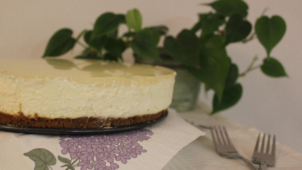 Citron cheesecake med bastogne bund